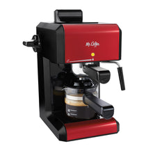 Mr. Coffee Steam Espresso Latte Cappuccino Maker-Red