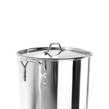 84 Quart Stainless Steel  Tamalera Tamales Big Vaporera Stock Pot w/ Steamer & Divider