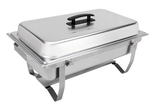 Rectangular Chafing Dish Full Size Chafer With folding Fram