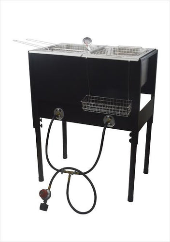 OUT DOOR DEEP FRYER PROPANE GAS WITH STAND W/ BASKET