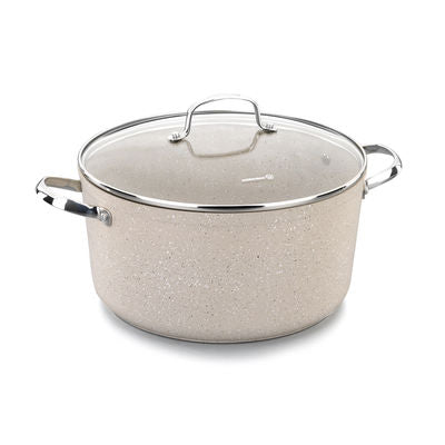 Non- Stick Eco Friendly Excellent Granite Stone Coating Heavy duty with Induction with lid,10 Lit