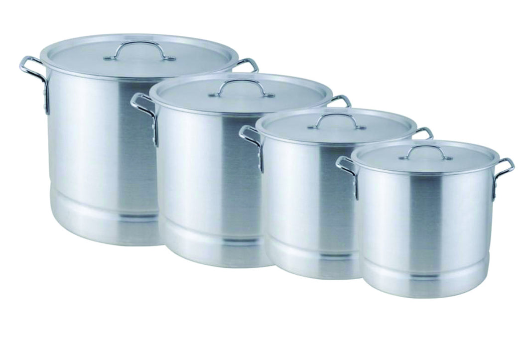 12 PC TAMALES ALUM STOCK POT W/ STEAMER RACK