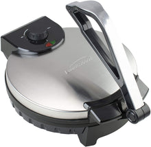 Brentwood Stainless Steel Non-Stick Electric Tortilla Maker, 12-Inch
