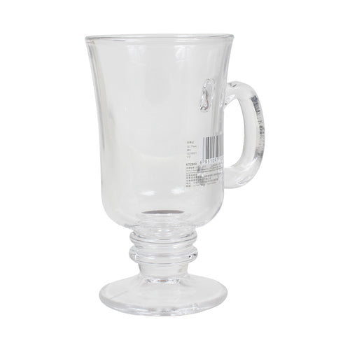 2pc Blingmax Coffee Glass Cup w/ Handle