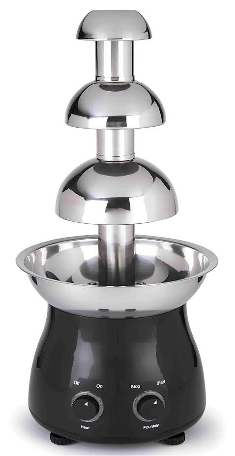 3 TIERS  STAINLESS STEEL  CHOCOLATE FOUNTAIN