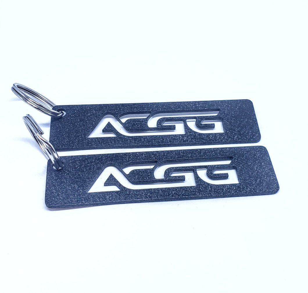ACGG Tag Wrinkle Black - Small