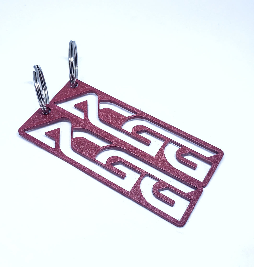 ACGG Tag Wrinkle Red - Large