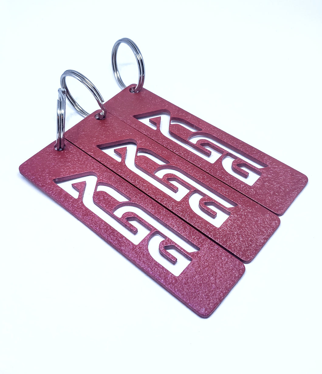ACGG Tag Wrinkle Red - Small