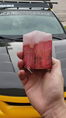 Cloudy Red 2 Resin