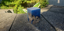 Solid Blue 2 Resin Block