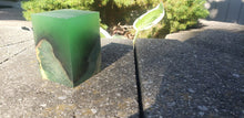 Green Glow 2 Resin Block