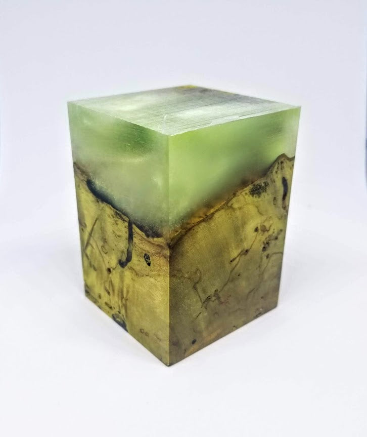 Green Fog 1 Resin