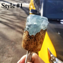 Clear Blue Resin