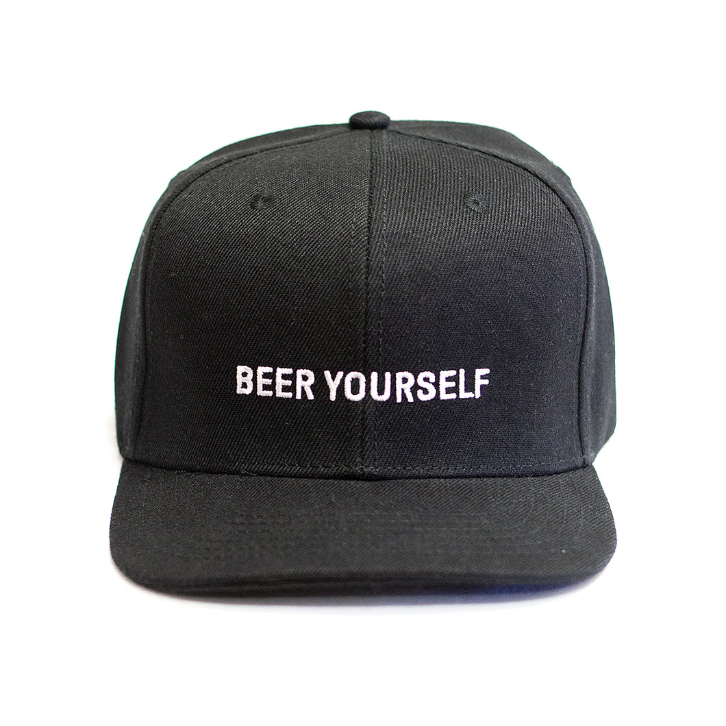 Black 'Beer Yourself' hat