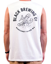 Load image into Gallery viewer, White 'Beer Yourself' Singlet