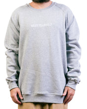 Load image into Gallery viewer, Grey 'Beer Yourself' Crew Neck