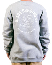 Load image into Gallery viewer, Grey Logo Crew Neck