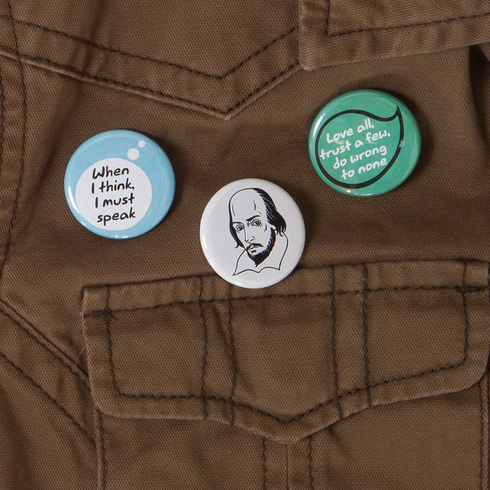 Shakespeare Buttons - Pack 2