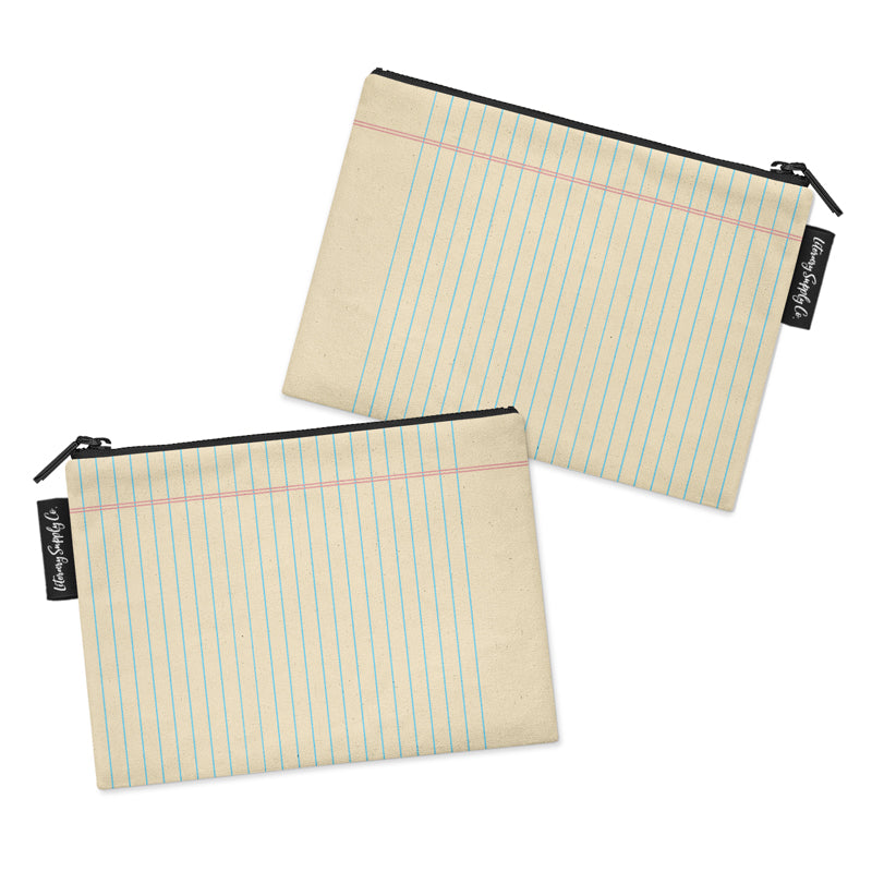 Lined Paper Pouch