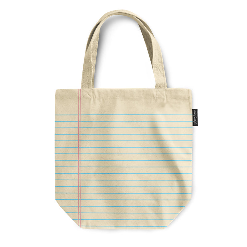 Lined Paper Tote