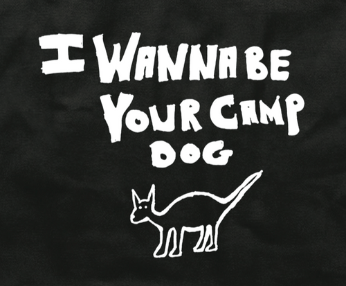Camp Dog T-shirt