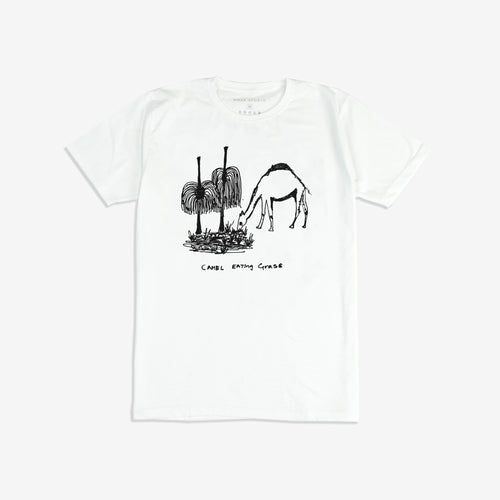 Camel Eating Grass T-Shirt