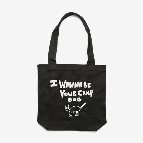 Camp Dog - tote