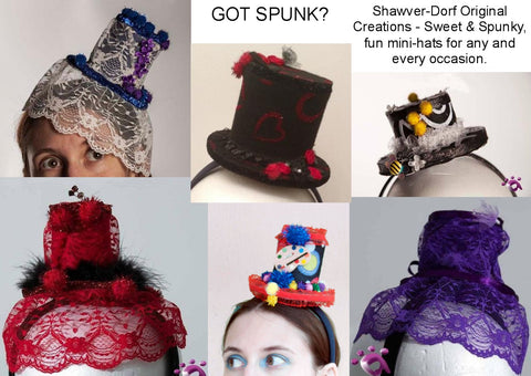Have a Custom Handmade Mini Hat Created just for You!