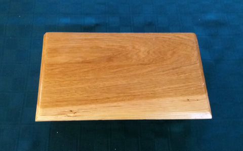 Fine Wood Jewelry or Keepsake Box - Hickory Wood