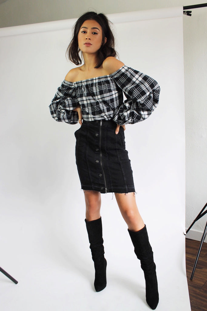 Poppy Denim Skirt