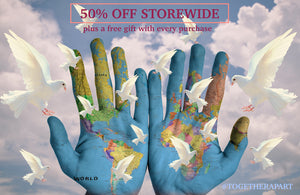 dove peace hands 50% off Storewide