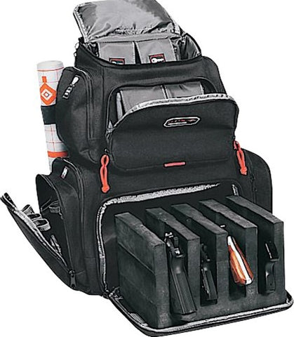G.P.S. Black Handgunner Shooting Backpack