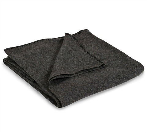 Stansport Wool Blend Gray Blanket