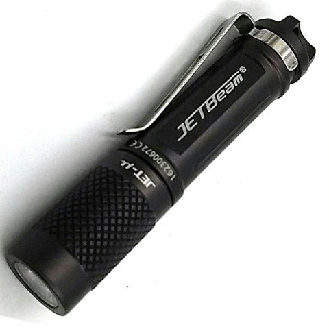 Jetbeam Micro EDC Flashlight - Black