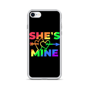 SHE'S MINE iPhone Case