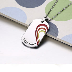 HEART MATCHING PUZZLE PENDANT NECKLACES.