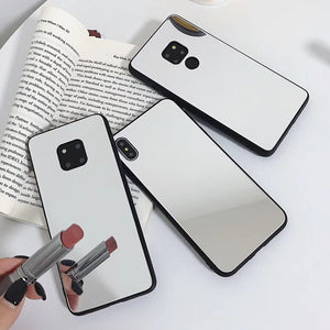 Fashion makeup mirror Case for iPhone 11 Pro XS Max Xr  8 7 6S Plus Acrylic Case