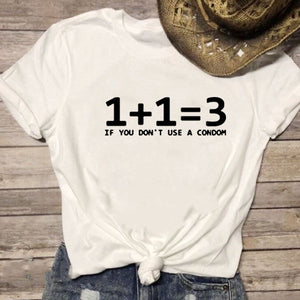 Math Problem Summer Funny T Shirts Women.
