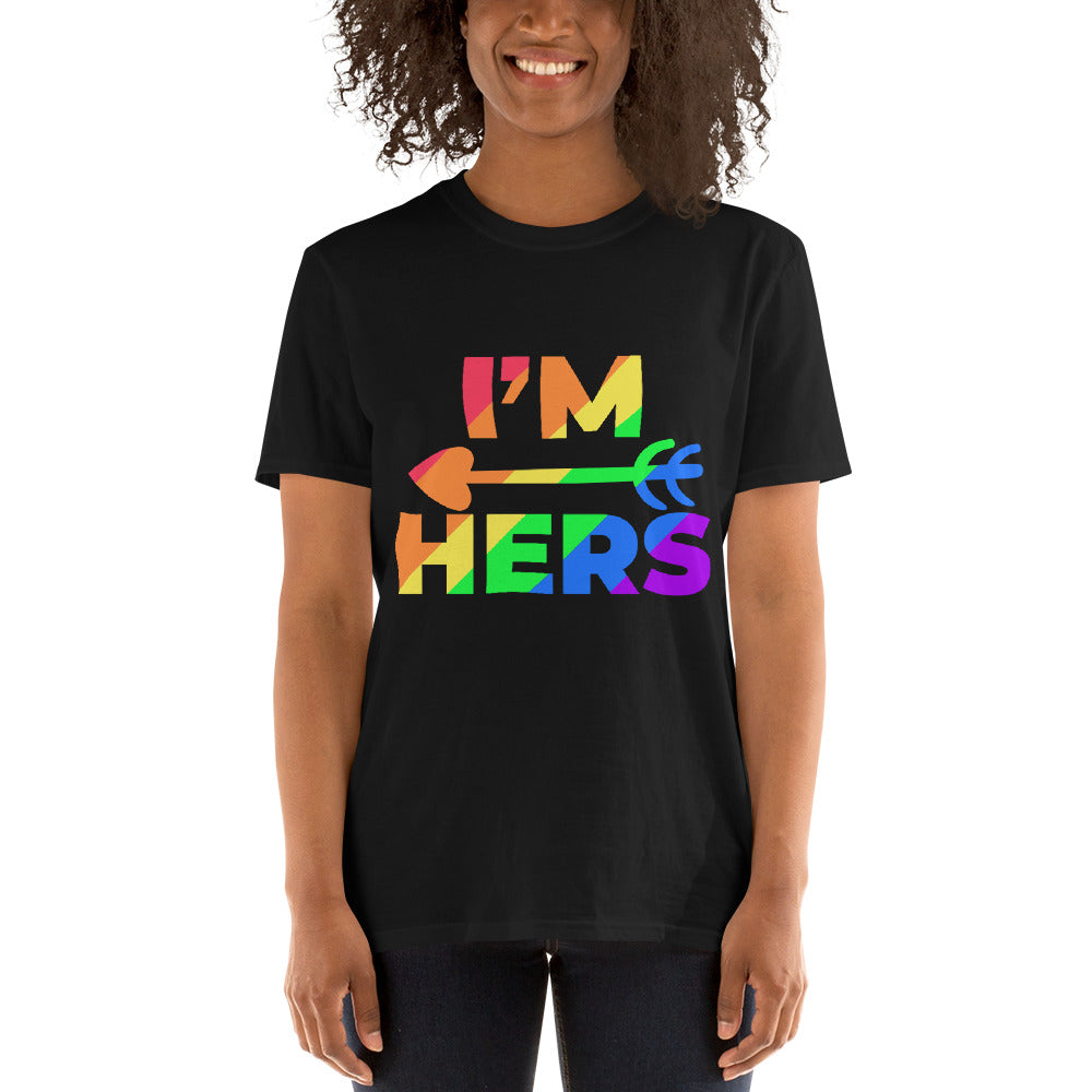 I'M HERS COUPLE T-SHIRTS.