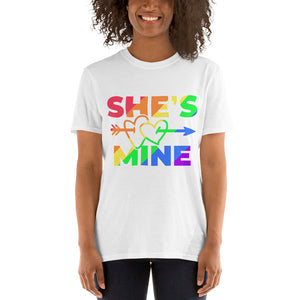 SHE IS MINE COUPLE T-SHIRT.