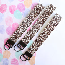 Leatherette Wristlet - key ring - key holder