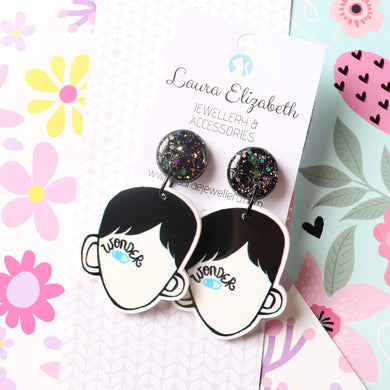 Wonder - Polymer Clay, Resin and Acrylic Earrings