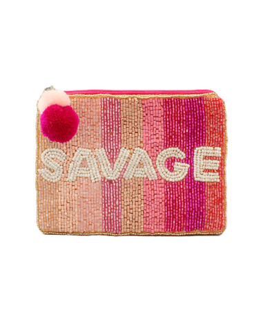 Savage Chic Coin Pouch