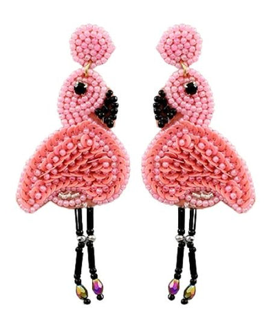 Island Flamingo Earrings