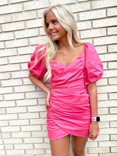 The Pink Tulip Dress