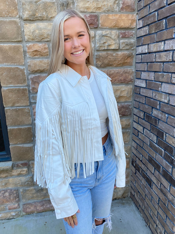 Fun Fringe Jacket