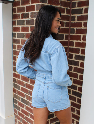 Rebel Denim Romper
