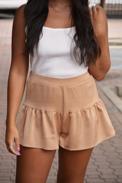 Toasty Taupe Shorts