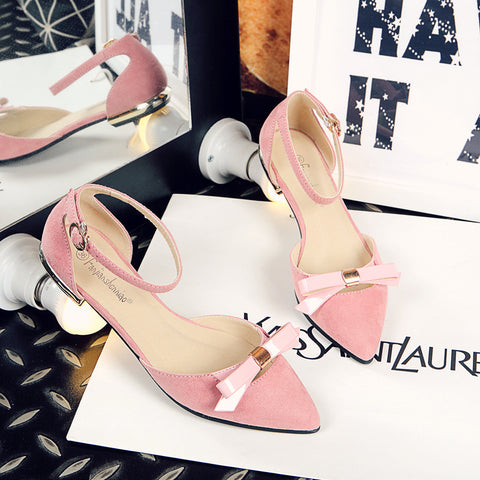 Fanah 2018 Fashion Thin Shoes Spring Summer Autunm Shoes for Lady Woman