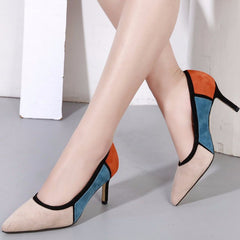 Fanah 2018 Fashion Leather Shoes Woman Shoes Lady Girl Quality Office Shoes FNS1803017
